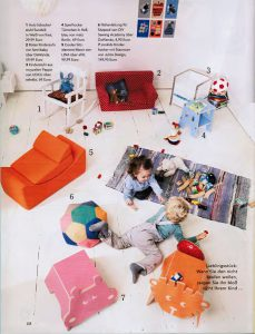 Eltern Magazin UOCU Kinderstuhl