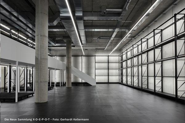 Die Neue Sammlung X-D-E-P-O-T Foto: Gerhardt Kellermann